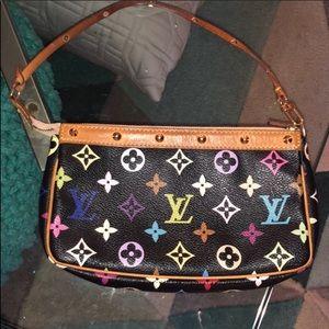 Louis Vuitton Multicolor Pouchette